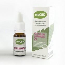 Aceite de CBD 2% - myCBD Oil - Sublingual 10ml