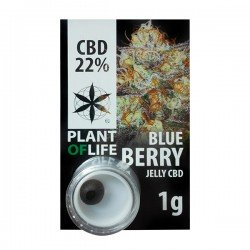 CBD Polen Jelly 22% Blueberry - Plant of Life
