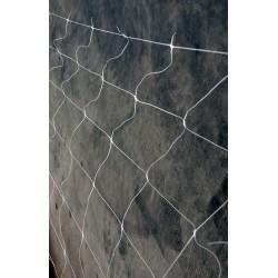 MALLA CUADROS BLANCA 1 X 5 M