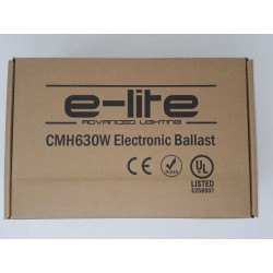 Balastro E-lite 630W CMH Regulable