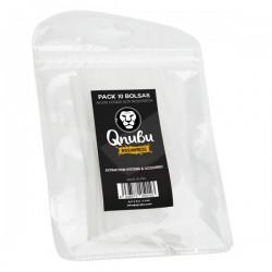 Bolsa Qnubu Rosin Press 25 micras 11x5 cm Pack 10 unds