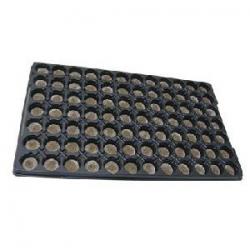 Bandeja 80 alveolos con jiffy de 30mm