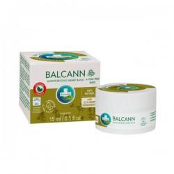 Balcann Balsamo Organico corteza de roble 2en1 15ml. Annabis