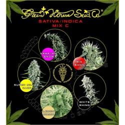 Green House Sativa/Indica Mix C 5Und Fem.