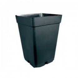 Maceta Cuadrada Negra 26,5x26,5x40cm 18 Litros