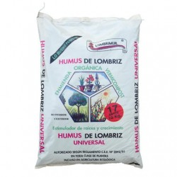 Humus Lombrimur Saco 17L - 10kg